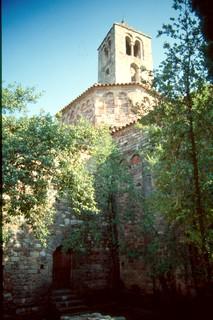 Santa María de Tarrasa. Vista desde el Noroeste.