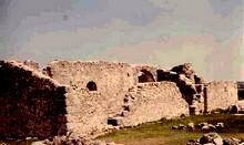 San Pedro de la Mata: Vista de las ruinas desde el suroeste
