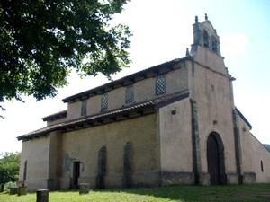 San Salvador de Priesca: Vista desde el noroeste