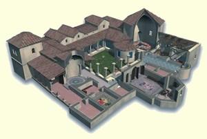 Carranque: Reconstrucción de la Villa de Materno según Balawat.com