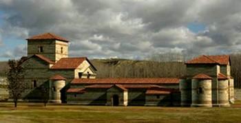 Carranque: Reconstrucción de la Basílica según Balawat.com