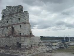 Carranque: Restos actuales de la misma esquina de la iglesia
