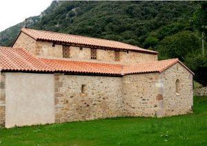 San Adriano de Tuñón. Vista del cosado sur
