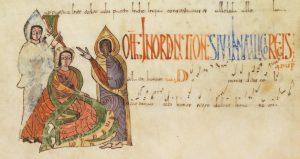 Folio 271r: Unción Real