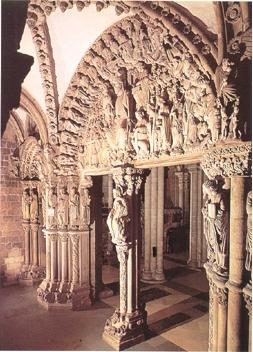rtico de la Gloria. Santiago de Compostela. S. XII