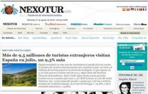 NEXOTUR Plataforma de información turística