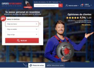 """la tienda expertoautorecambios.es"""""""