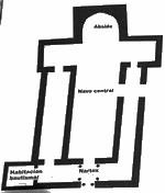 Planta de la iglesia de Recópolis